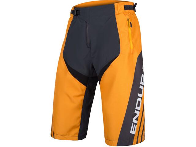 9e88c7a7a4 Endura MT500 Burner - Culotte corto sin tirantes Hombre - gris naranja